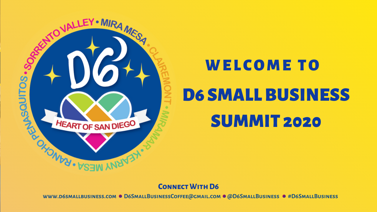 Welcome to D6 Small Business Summit